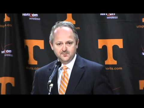 Tennessee Introduces Cuonzo Martin As New Head Basketball Coach
