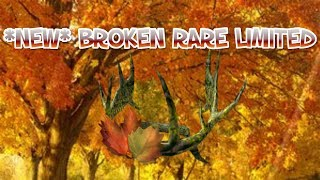 *(READ DESC)* NEW RARE BROKEN ROBLOX LIMITED! | ROBLOX