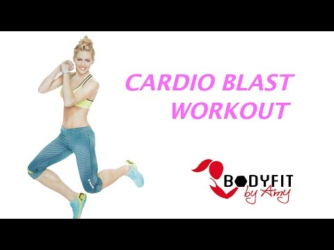 20 Minute Cardio Blast Workout for Burning Calories and Blasting Fat!