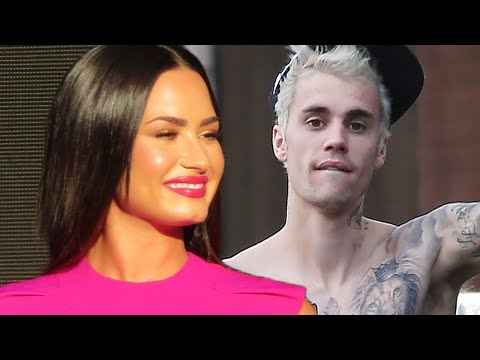 Justin Bieber, Hailey, Demi Lovato & Scooter Braun ALL Attended Church Together To Show UNITY!