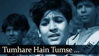 Tumhare Hain - Boot Polish (1954) - David - Ratan Kumar - Baby Naaz