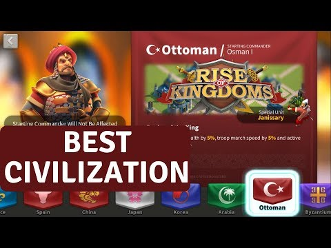BEST CIVILIZATION - Rise Of Kingdoms