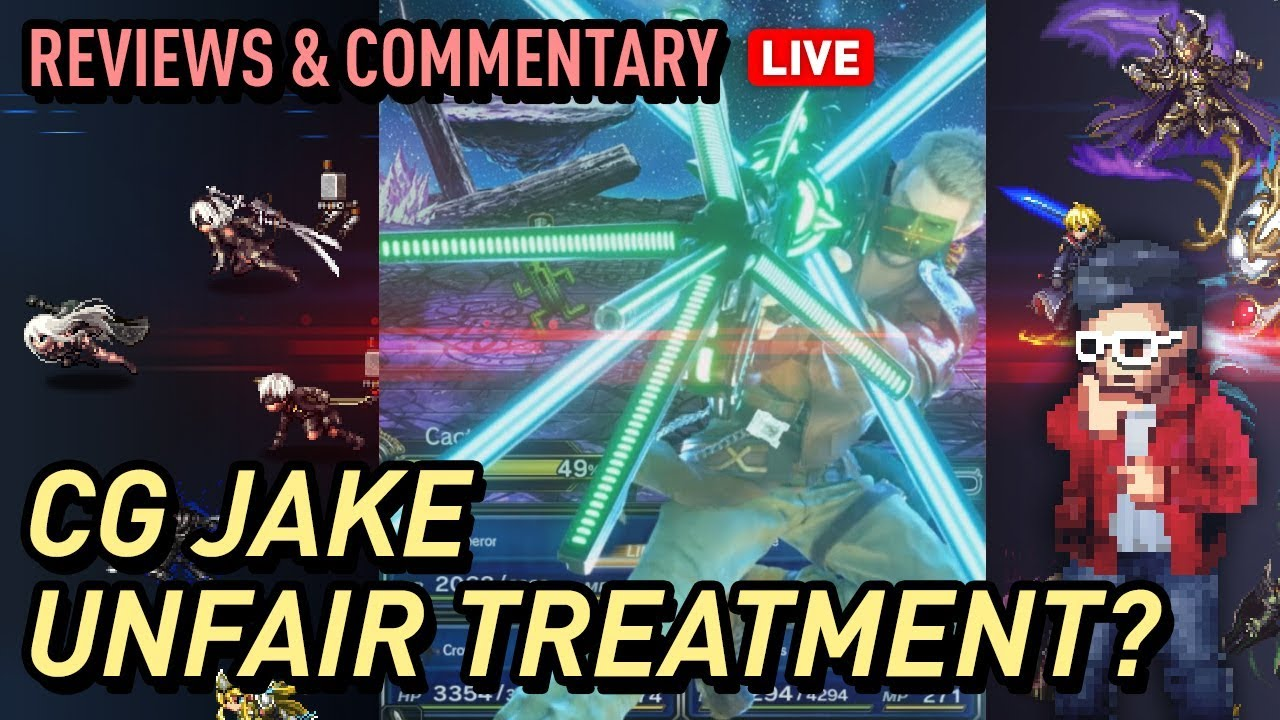 Ffbe Cg Jake A Missed Opportunity My Unbiased Thoughts Review