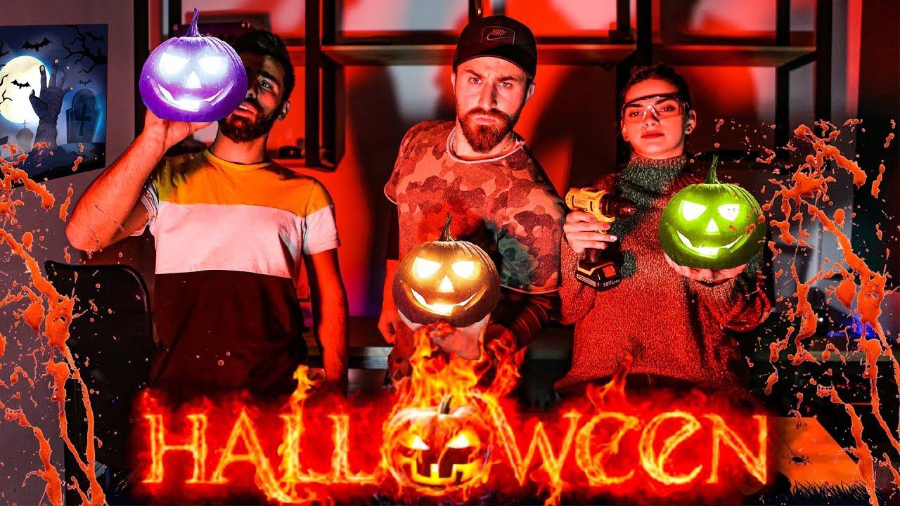 Halloween challengeსიურპრიზები ქალაქში