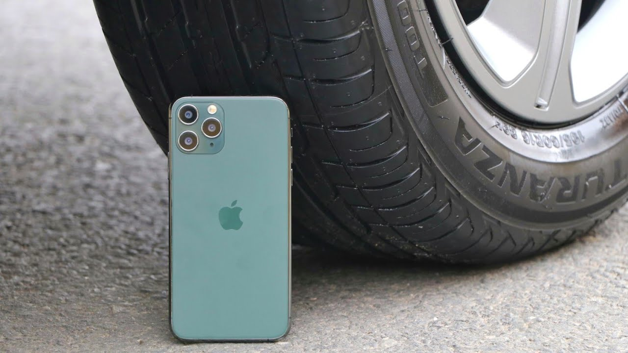 Car vs iphone 11 pro