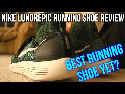 Best Running Shoe of 2016! (Nike LunarEpic Flyknit Review)