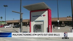 Customers who received $100 bills instead of $20 bills at ATM can keep money