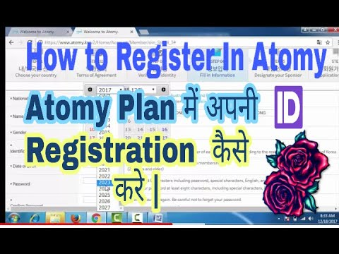 Atomy Full Registration Process  How To Join Atomy  How To Register In Atomy