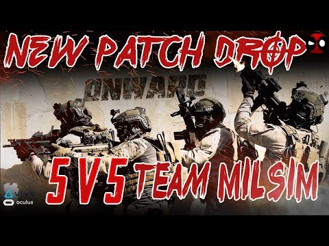 5v5 VR MILSIM MAYHEM  | Onward | Virtual Reality Shooter
