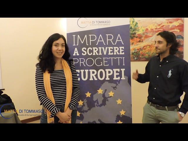Come scrivere un progetto europeo con Mattia Di Tommaso