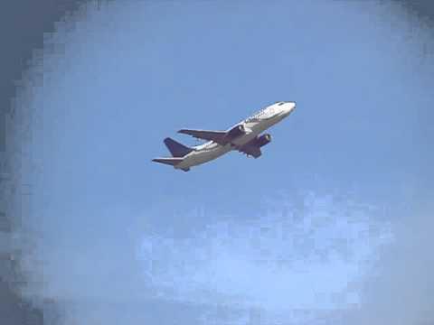 Despegue del vuelo Inaugural del reinicio de operaciones de Estelar Latinoamericana