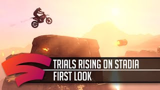 Trials Rising - Stadia First Look - 4K footage