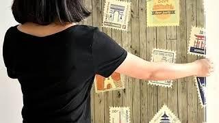 접착식 3D 쿠션 블럭폼 파벽돌 시트지 벽돌모양 벽지
