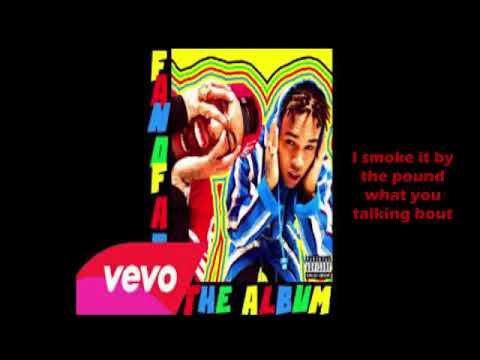 Chris Brown ft TYGA - Bitches n marijuana ( lyrics)