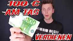 100 EURO AM TAG online Geld verdienen mit ZOCKEN, INSTAGRAM & NETFLIX ?!!