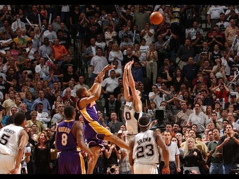 2004 NBA Playoffs WCSF G5 Lakers vs. Spurs