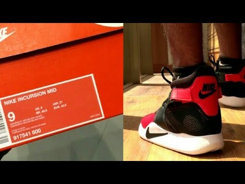 pretty nice 702cd 99917 Unboxing Nike Incursion + on feet   India Hindi