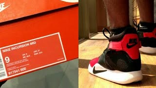 Unboxing Nike Incursion + on feet | Review in Hindi