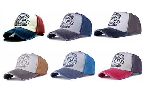 New York Jeans NYPD Baseball Cap Limited Edition - YouTube fdca74501e