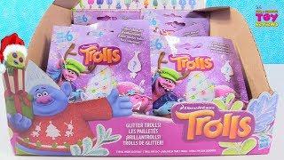 Trolls Series 6 Glitter Pearl Christmas Trolls Blind Bag Toy Review | PSToyReviews