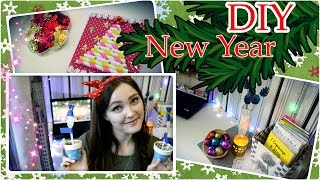 Новогодний DIY/Украшаем комнату и делаем открытку своими руками ❅