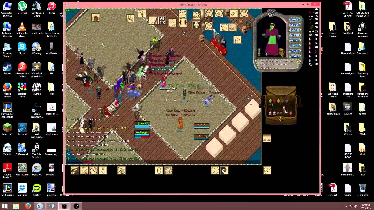 ultima online forever pvp 2015 youtube