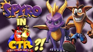 IS SPYRO IN CRASH TEAM RACING REMAKE?! - Theory
