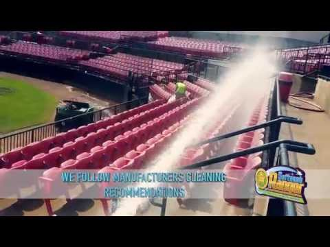 concrete stadium cleaning