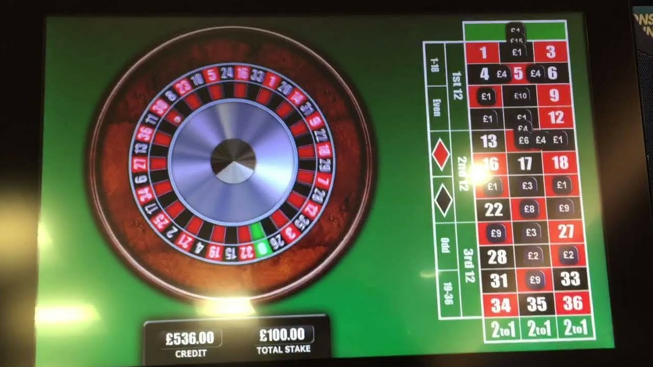 Roulette double street payout