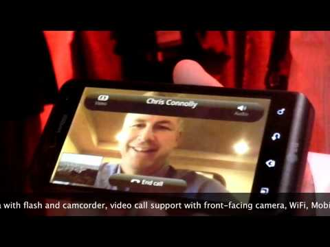LG Revolution 4G LTE Android phone for Verizon hands-on demo