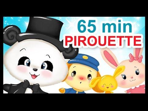 Pirouette, Cacahuète - 1h - Chansons et comptines des Titounis