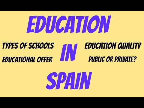 Living in Spain - Education in Spain
