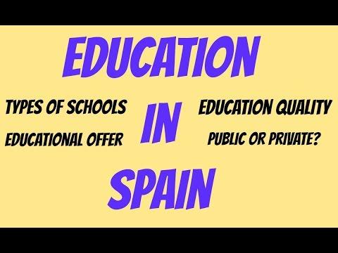 Living in Spain - Education in Spain
