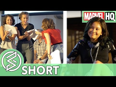 "Marvel Rising – Young Storytellers | ""The Missing Friends"" by Corryn 