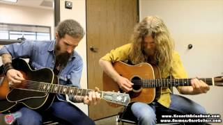 Kenneth Brian Band plays New River Train on The Flo Guitar Enthusiasts with Norman