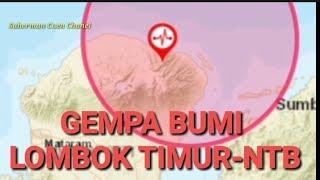 Download Video GEMPA BUMI 17 JUNI 2019 BERKEKUATAN 4.1 MAGNITUDODI  TIMUR LAUT LOMBOK TIMUR-NTB MP3 3GP MP4