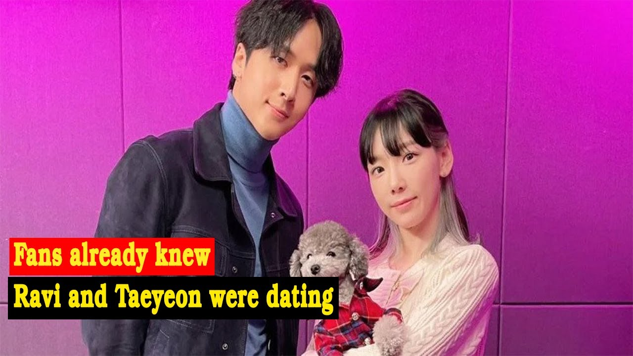 Fans already knew Ravi and Taeyeon were dating