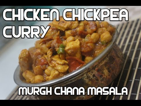 Chicken & Chickpea Curry Recipe - Murgh Chana Masala