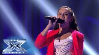 "Simone Torres ""Comes"" On Strong! - THE X FACTOR USA 2013"