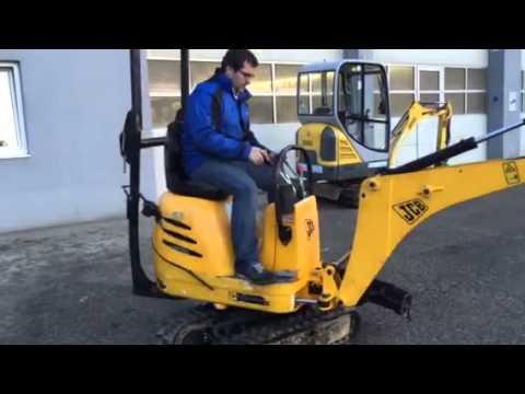 Inbetriebnahmevideo JCB 8010 BJ2010