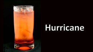 Hurricane Cocktail Drink Recipe