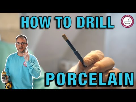 The Secret Of How To Drill Holes Into Porcelain Tiles | Hanging A Towel Radiator | DIY | Tutorial