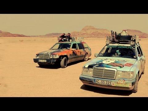 Sand sun stars the allg u orient rallye 2013 for Rallye mercedes benz