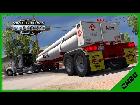 American Truck Simulator - Fleet Drive - Gallon Oil
