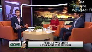 Did the Miami Open crowd go too far with Caroline Wozniacki?