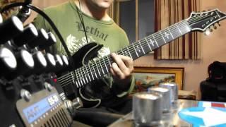 Schecter Hellraiser C8  - AMT Electronics SS20 - Metal