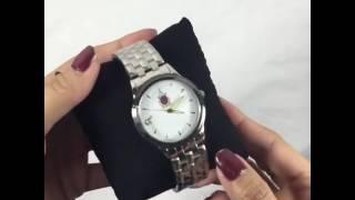 นาฬิกาข้อมือตราสัญลักษณ์ ฉลองสิริราชสมบัติครบ 70 ปี ในหลวงรัชกาลที่ ๙