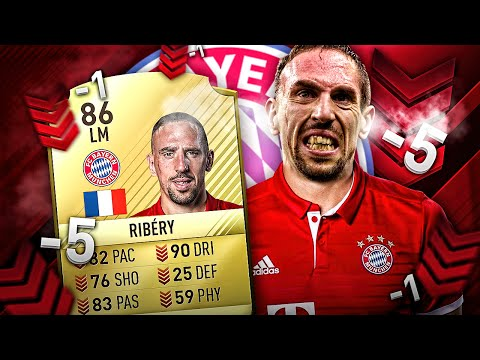 FRANCK RIBERY PACE NERF FRENCH LEGEND DOWNGRADED FIFA 17 BUNDESLIGA SQUAD! FIFA 16 ULTIMATE TEAM