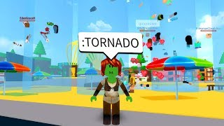 You Can Use Admin Commands In Roblox To Cause A Massive Tornado