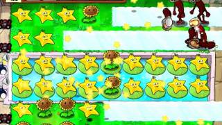 Plantas VS Zombies - Carreras de Bobsleigh (3 plantas)